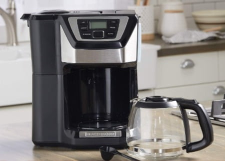 Black & Decker CM5000B 12-Cup Mill and Brew Coffee maker header