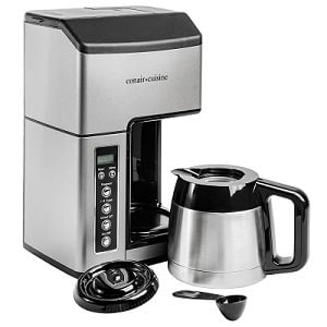 Conair Cuisine Grind And Brew 10-Cup Coffee Maker CC-10FR Review Header Image