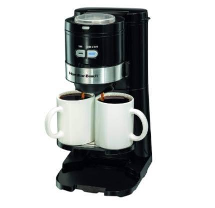 Hamilton Beach 49989 Grind and Brew Single Serve Coffee Maker Header