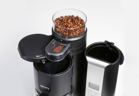 KRUPS KM7005 Grind and Brew Coffee Maker Review Banner