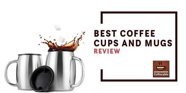 best coffee cups and mugs banner image