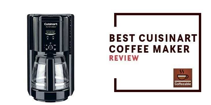 best Cuisinart coffee maker banner image