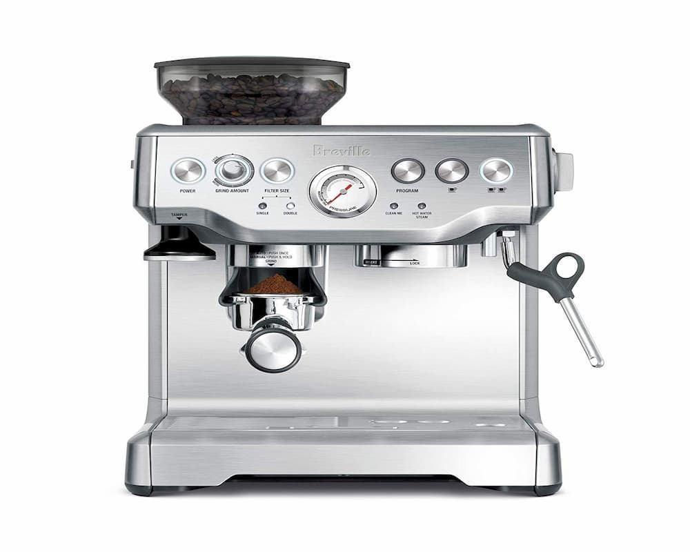 Breville BES870XL Barista Express Espresso Machine Banner