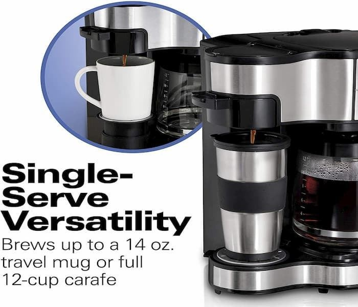 Hamilton Beach 49980A Coffee Maker header image