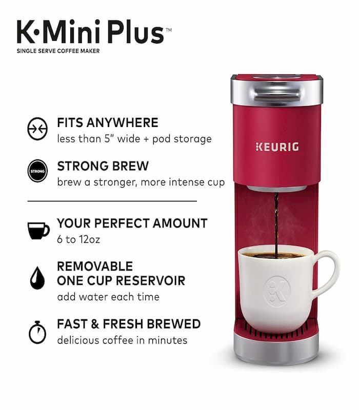Keurig K-Mini Plus Single Serve Coffee Maker Reveiw Featured Image