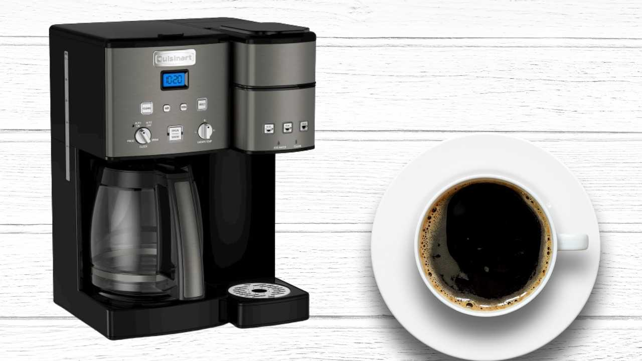 How To Turn Off Clean Light On Cuisinart Coffee Maker